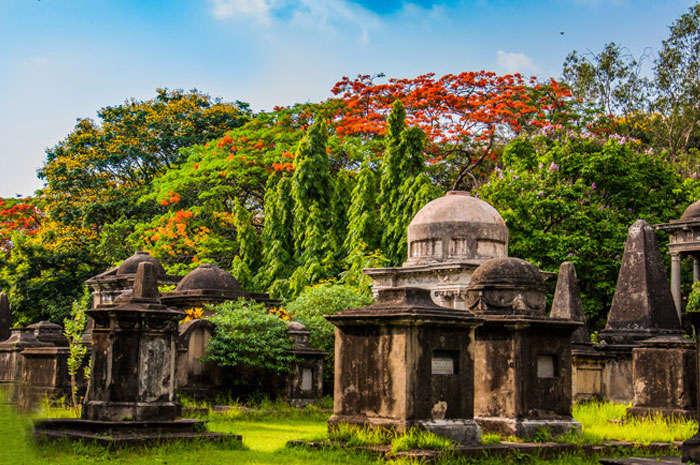 The South Park Cemetery in Kolkata