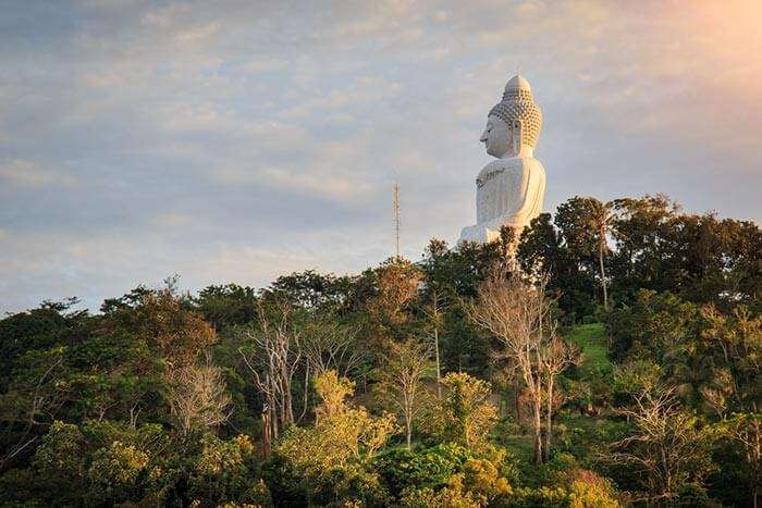The Big Buddha at Phuket, a prominent spot for Phuket sightseeing