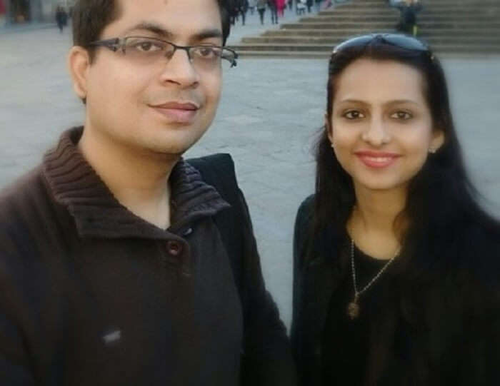 Anubhav and his wife