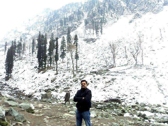 Kashmir in Winters