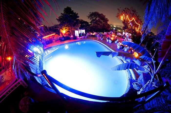 pool in club cabana