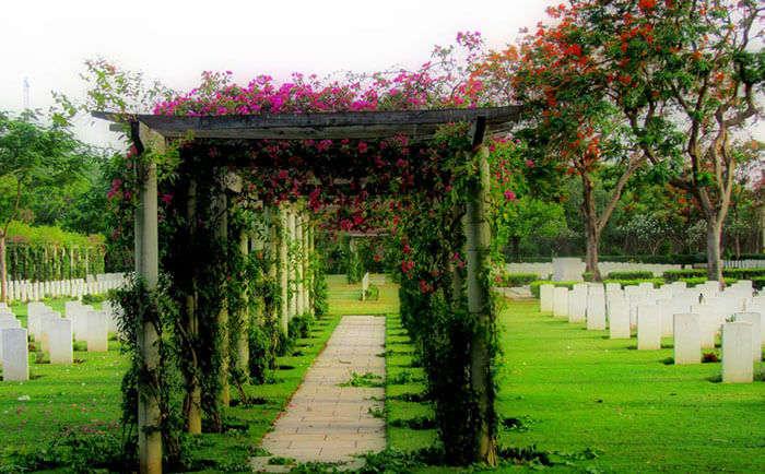 The haunted Delhi War Cemetery