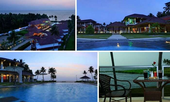 Many views from Edassery Kayal Resort in Kumarakom
