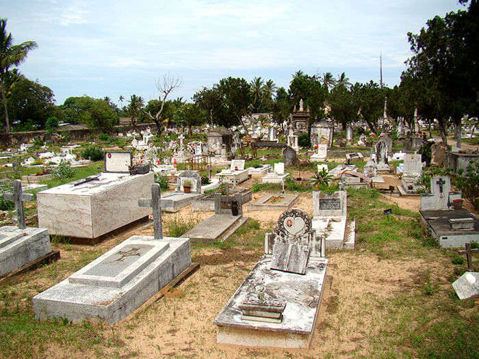 Graveyards of the Portuguese Cemetery