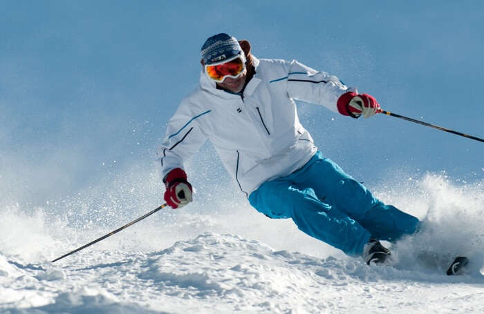 Auli is one of the premier ski destination in India