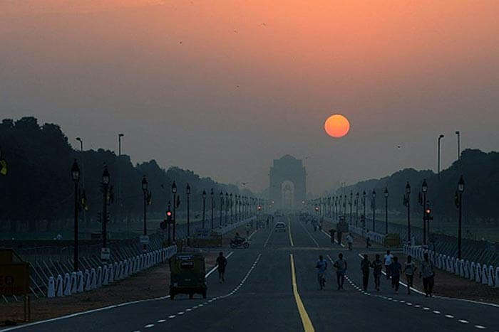 Delhi has some stunning spots for witnessing the sunrise
