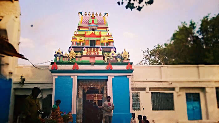 The Visa God's temple in Hyderabad