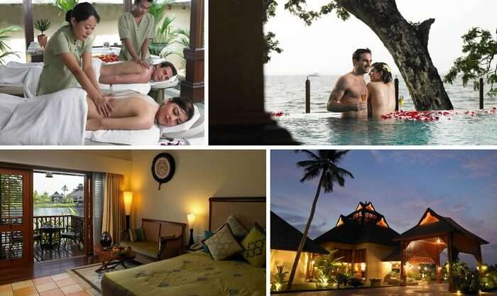 A view of the amenities at the Zuri Resort in Kumarakom