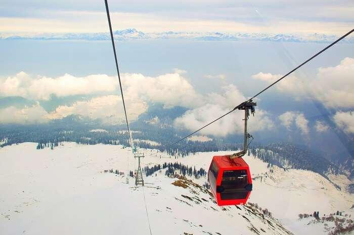 Gulmarg - gondola view