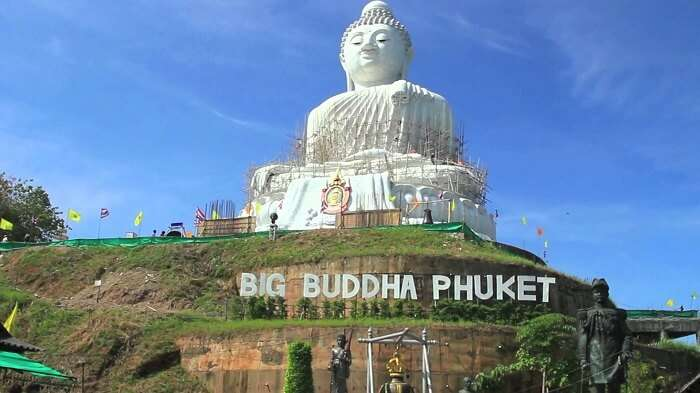 Big Buddhas is an ancient statue in Phuket that attracts a lot of travellers