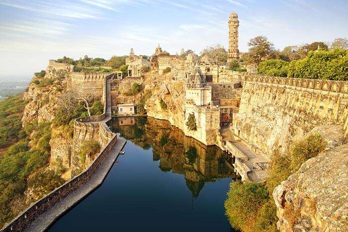 The grandeur of the forts of Chittorgarh
