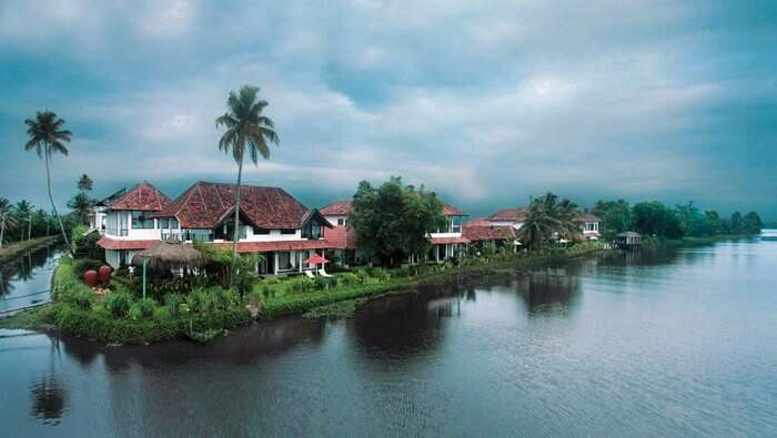 Citrus Retreat is surrounded by the backwaters on three sides
