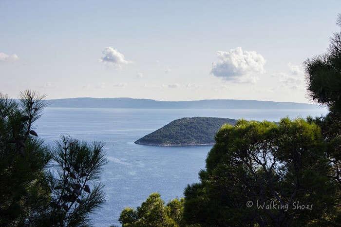 Sea view from Croatia
