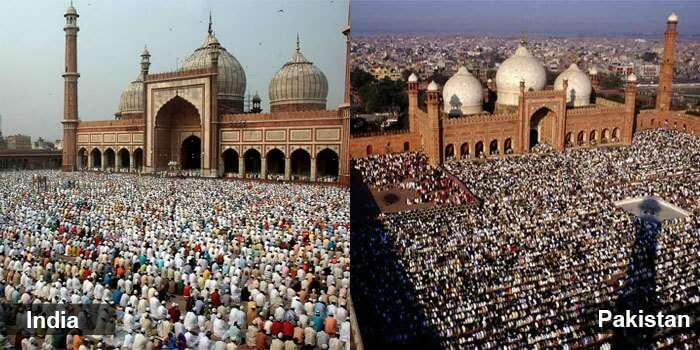 Both the nations follow one religion of humanity