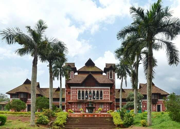 Halcyon Castle is one of the heritage places to see in Kovalam