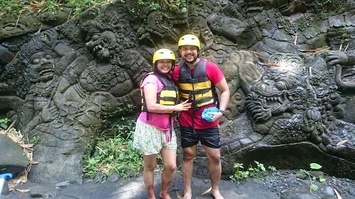 River Rafting in Ayung River