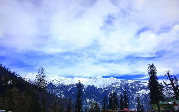 The visually breathtaking Solang Valley, Manali