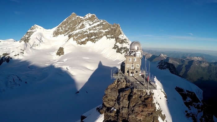 Jungfraujoch is called the top of the Europe