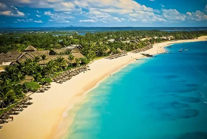 La Cuvette Beach Grand Bay is one of the best beaches in Mauritius