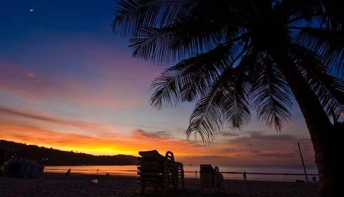 sunset at Patong