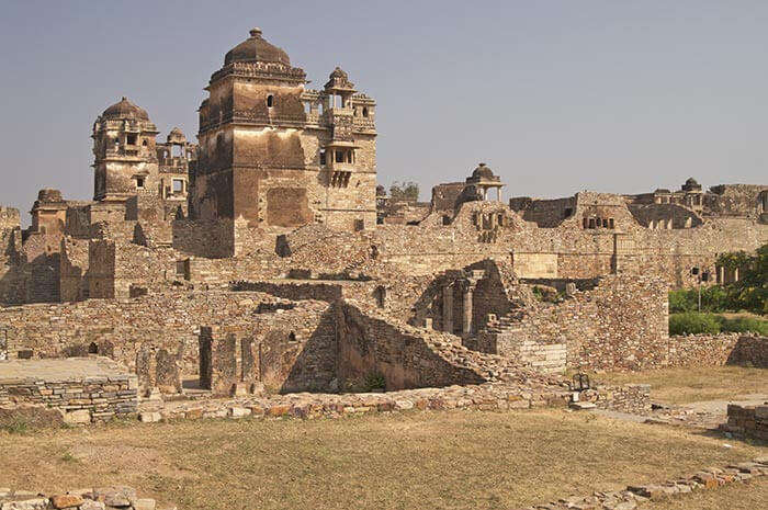 The splendid palace with spooky stories in Chittorgarh