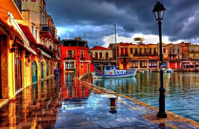 The beautiful town of Rethymno is one of the most popular tourist places in Greece