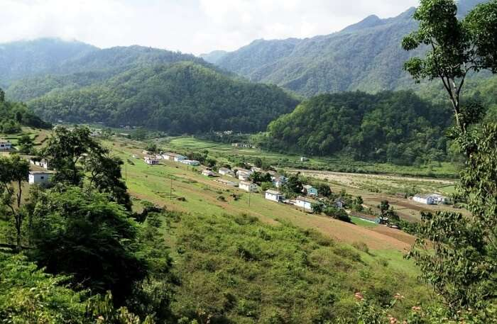 Lohajung and Wan Village
