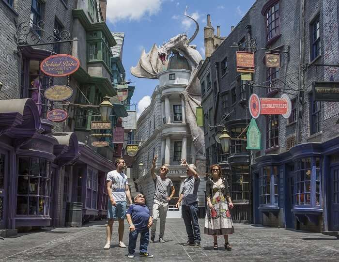 The new attraction in Universal Studio of USA