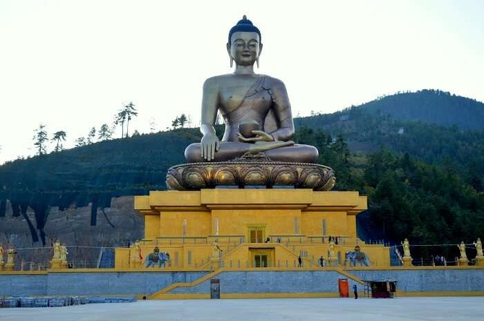 Statue of Buddha in Bhutan