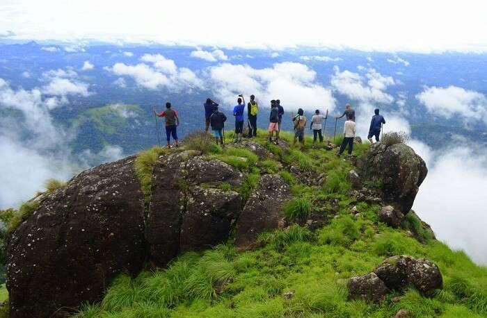 The highest peak in Munnar