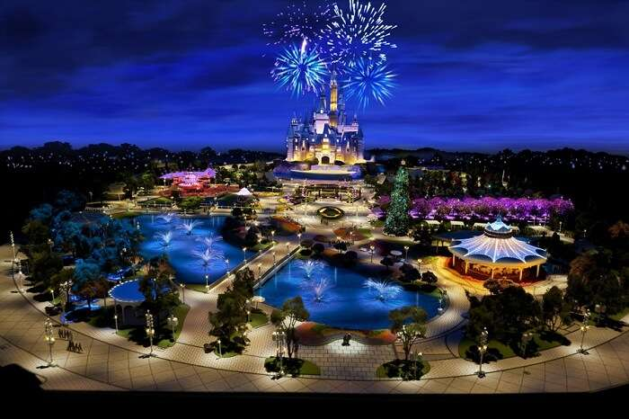 The newer edition of Disneyland in Shanghai
