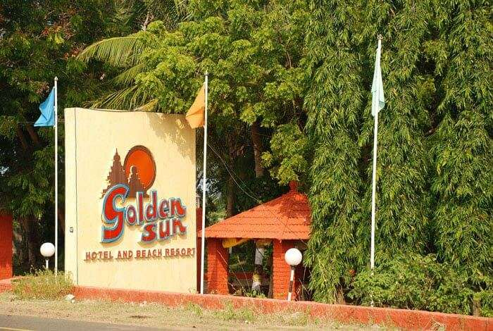 Golden Sun Beach Resort at chennai