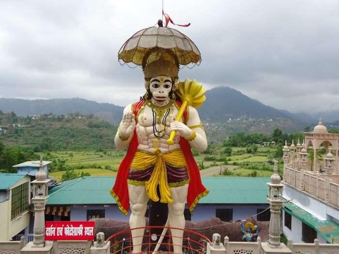 visit Hanuman Garhi, best places to visit in Nainital