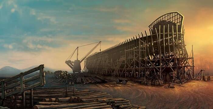 The beautiful upcoming ark encounter in Kentucky
