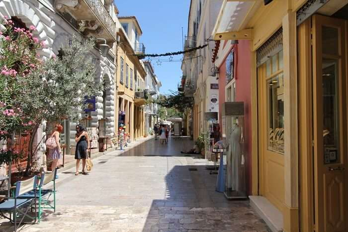 nafplio town of greece