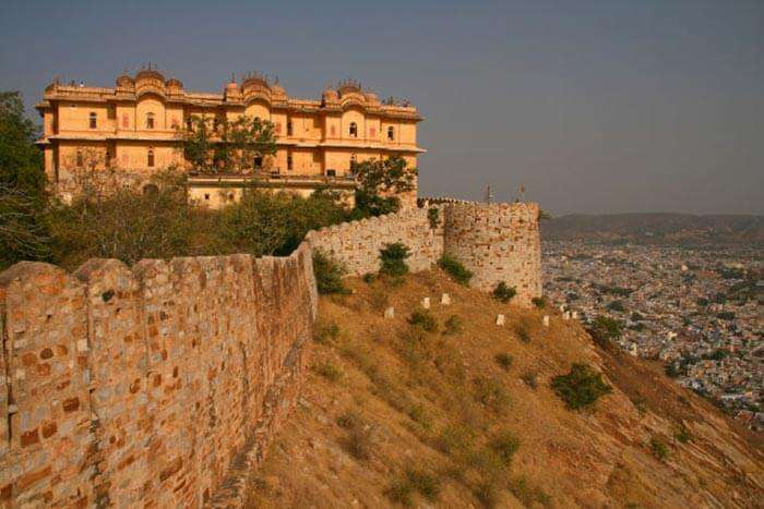 The haunted fort in Rajasthan