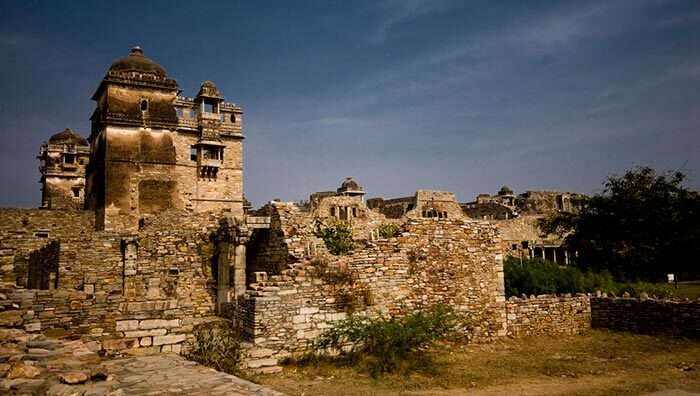 The haunted palace of Chittorgarh in Rajasthan