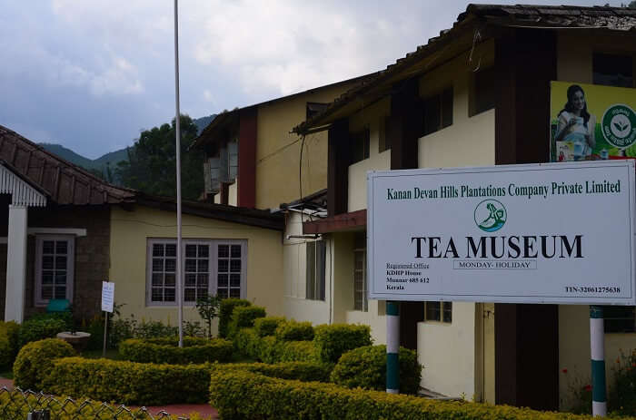 The popular tea museum by KDHP is among the popular tourist attractions in Munnar