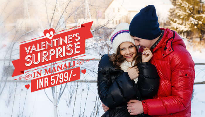 enjoy valentine's day at manali with your bae