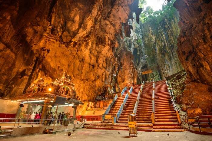 Humongous idol of Lord Shiva at Batu Caves – one of the top places to see in Kuala Lumpur