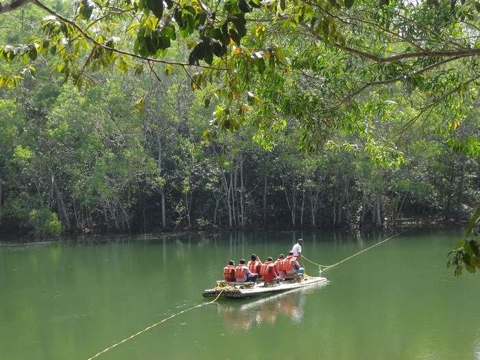 Boating at Neyyar Dam is one of the popular things to do in Trivandrum