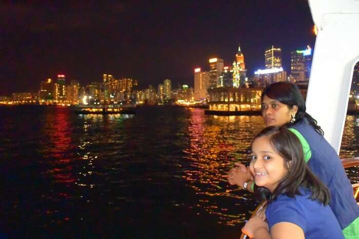 Saurabh in the city of Hong Kong