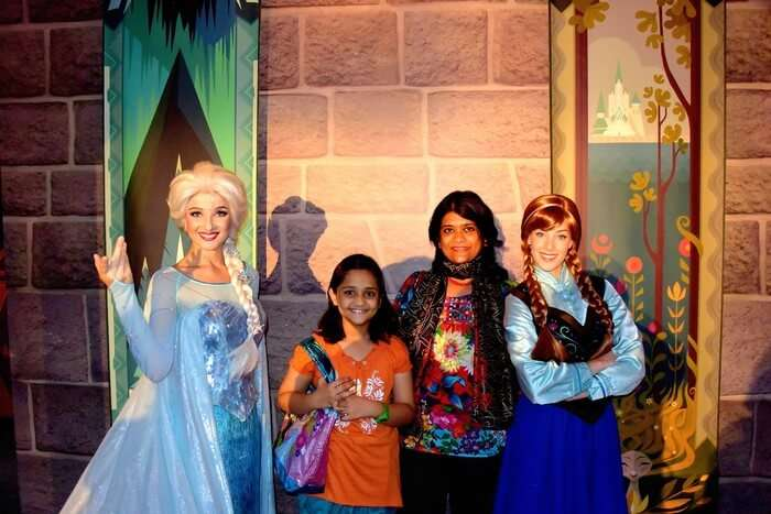 Disney Princesses in Disneyland Hong Kong