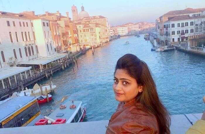 Manvi in Venice