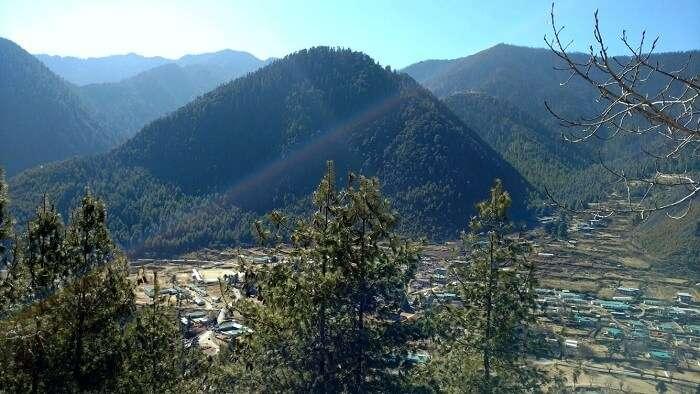 Scenery in Bhutan