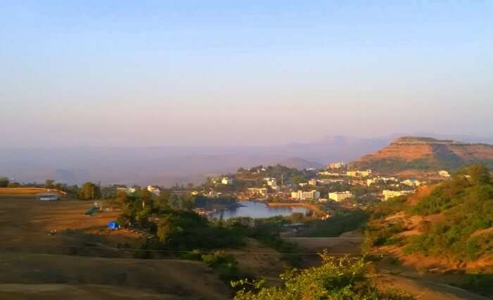 Satpura - the town viewpoint