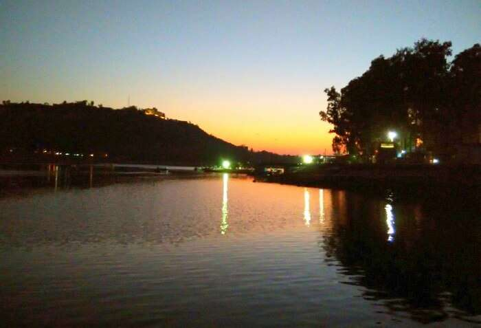 The beautiful Satpura Lake