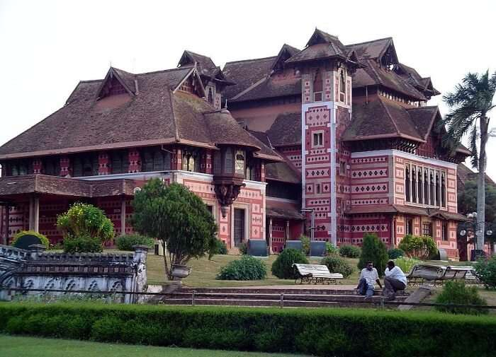Building of the Napier Museum is a mix of various architectural genres