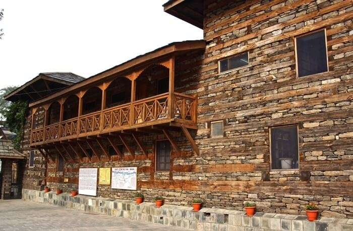 The Nicholas Roerich Art Gallery in Naggar Village
