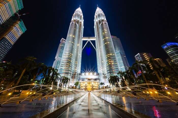 Petronas Twin Towers are one of the key places to visit in Kuala Lumpur